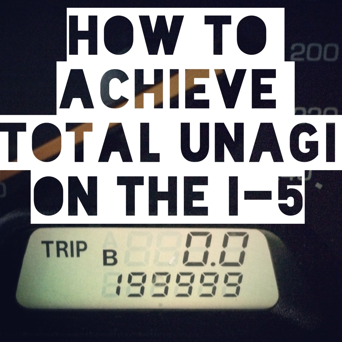 How to achieve total Unagi in traffic